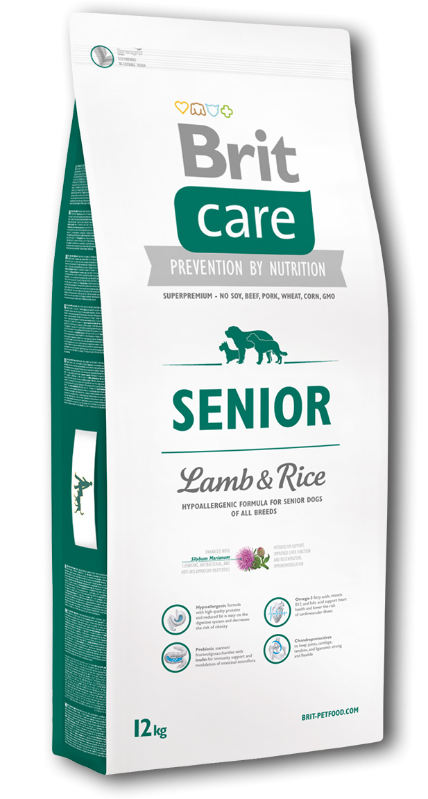 Brit Care Senior Lamb & Rice 12kg PRODEJNA