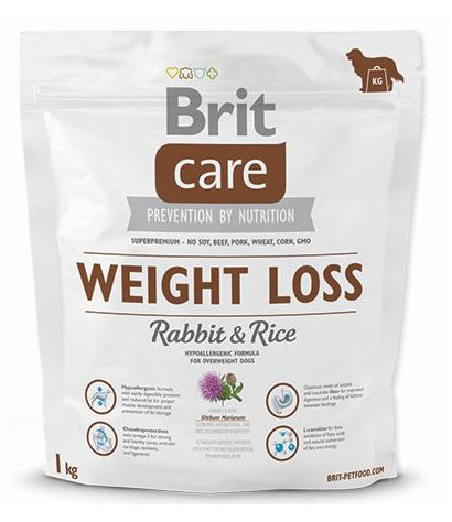 NEW Brit Care Weight Loss Rabbit & Rice 1kg