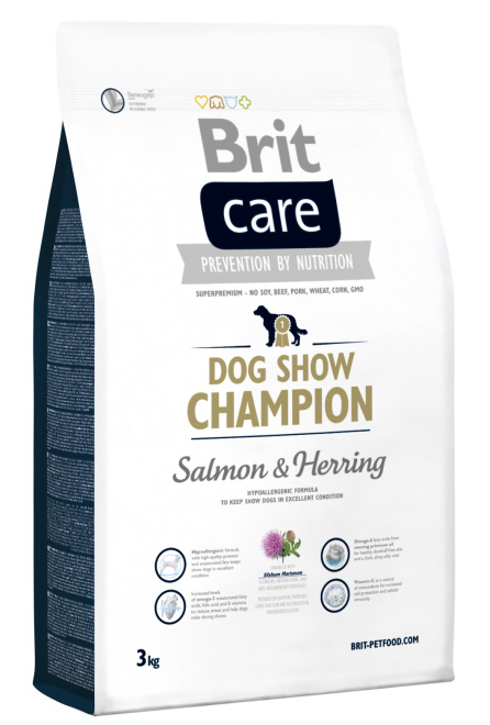 NEW Brit Care Dog Show Champion 3kg