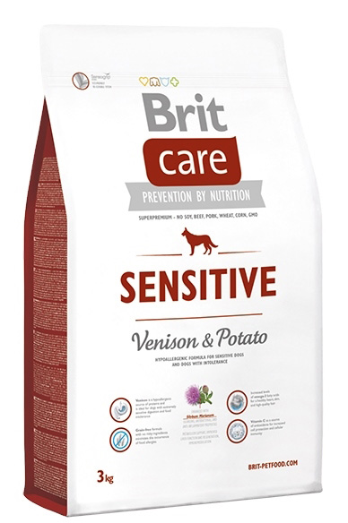 NEW Brit Care Sensitive Venison & Potato 3kg