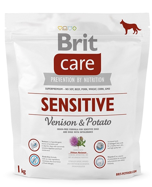 NEW Brit Care Sensitive Venison & Potato 1kg