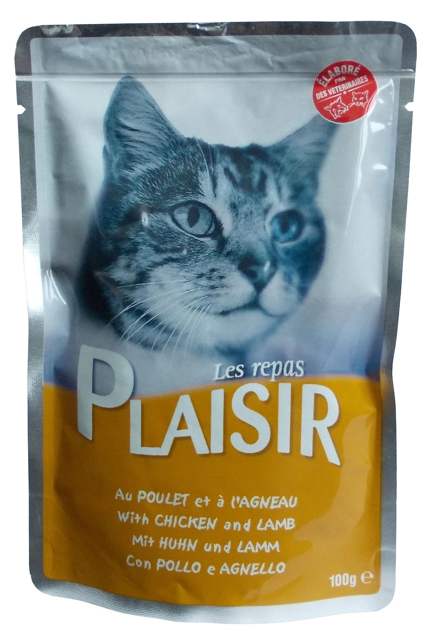 Plaisir Cat kapsička kuřecí + játra 100g