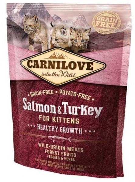 Carnilove CAT Salmon & Turkey for Kittens 400g