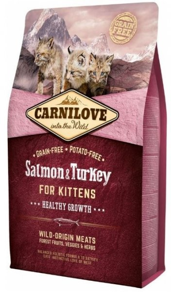 Carnilove CAT Salmon & Turkey for Kittens 2kg