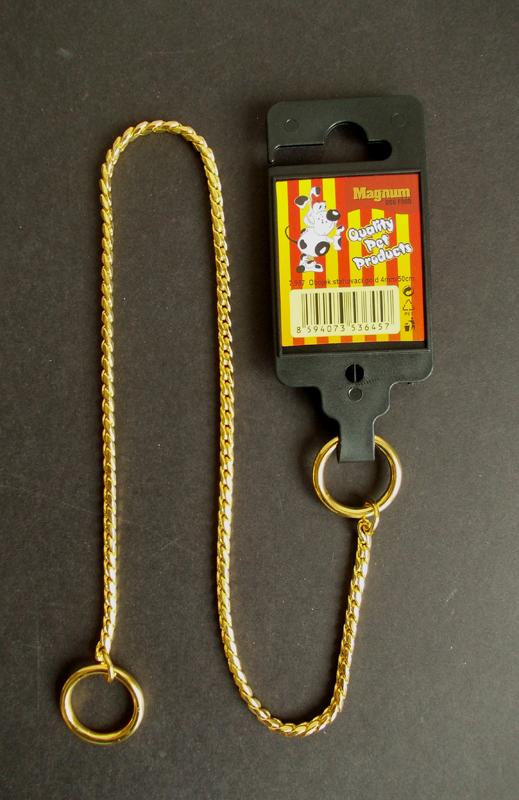 Obojek stahovací GOLD 3mm x 40cm