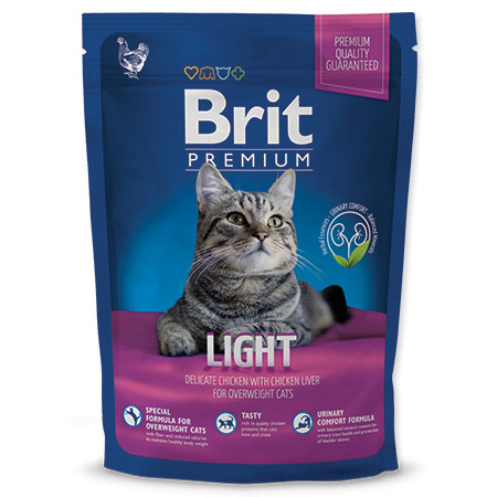 NEW Brit Premium Cat LIGHT 800g