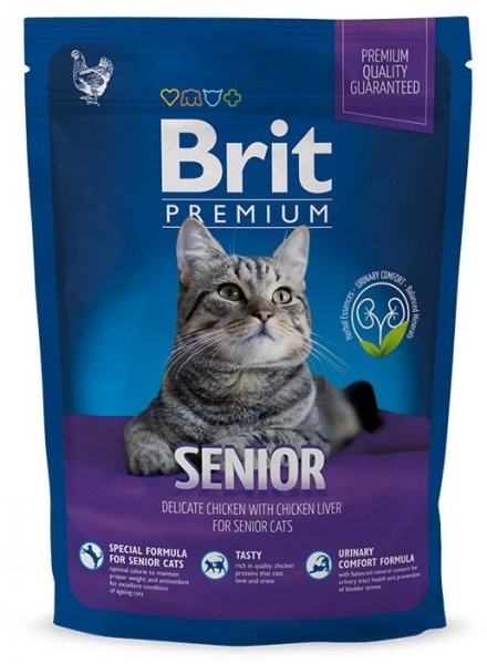 NEW Brit Premium Cat SENIOR 300g