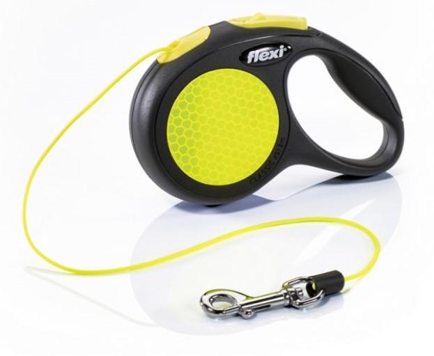 Vodítko Flexi NEON Reflect XS 3m (max 8kg)