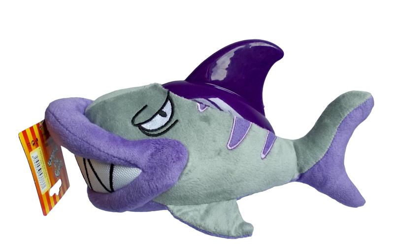 Žralok textil+TG 31x17cm