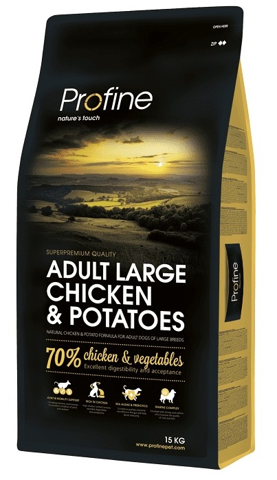 NEW Profine Adult Large Breed Chicken & Potatoes 15kg