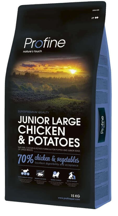 Profine Junior Large Breed Chicken & Potatoes 15kg