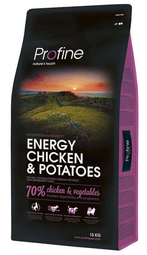 Profine Energy Chicken & Potatoes 15kg