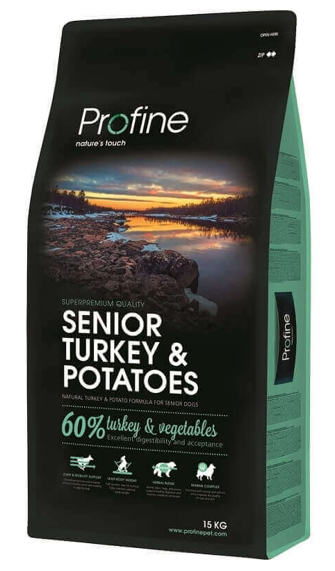 Profine Senior Turkey & Potatoes 15kg