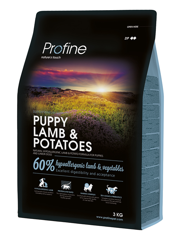 NEW Profine Puppy Lamb & Potatoes 3kg