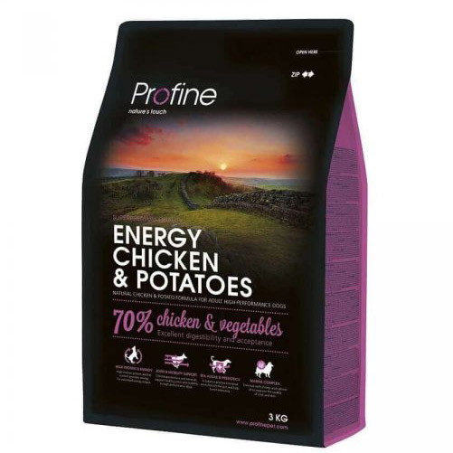 NEW Profine Energy Chicken & Potatoes 3kg