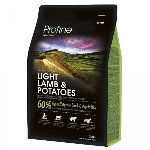 NEW Profine Light Lamb & Potatoes 3kg