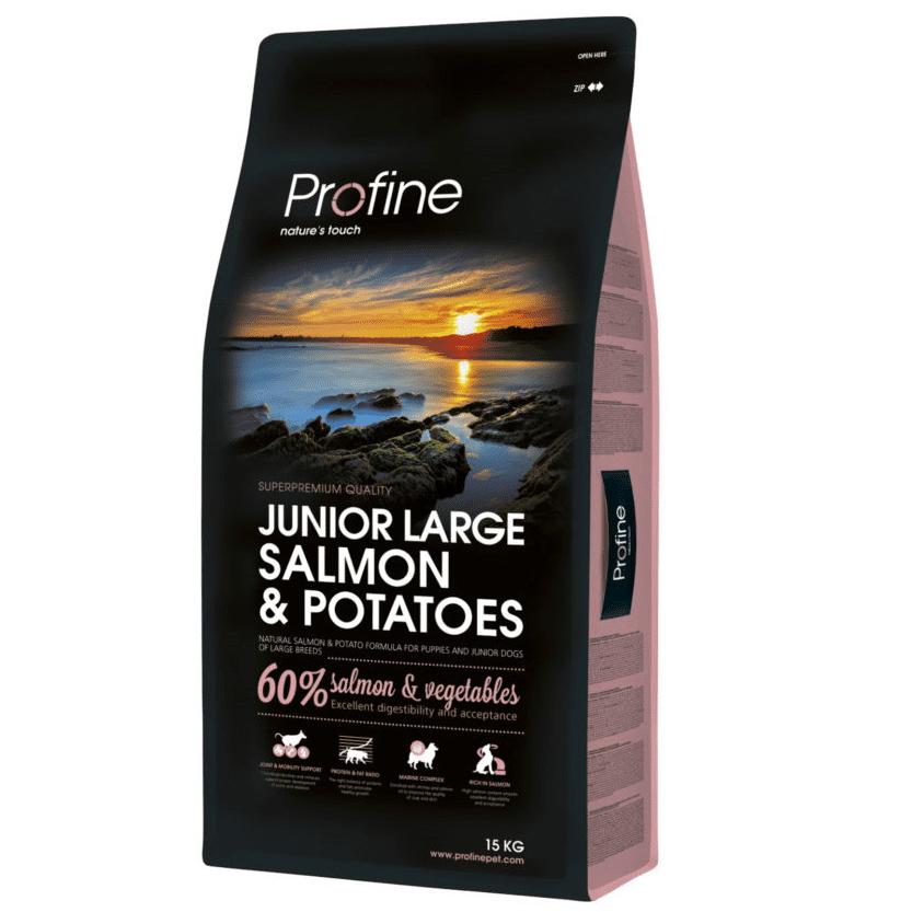 Profine Junior Large Breed Salmon & Potatoes 15kg