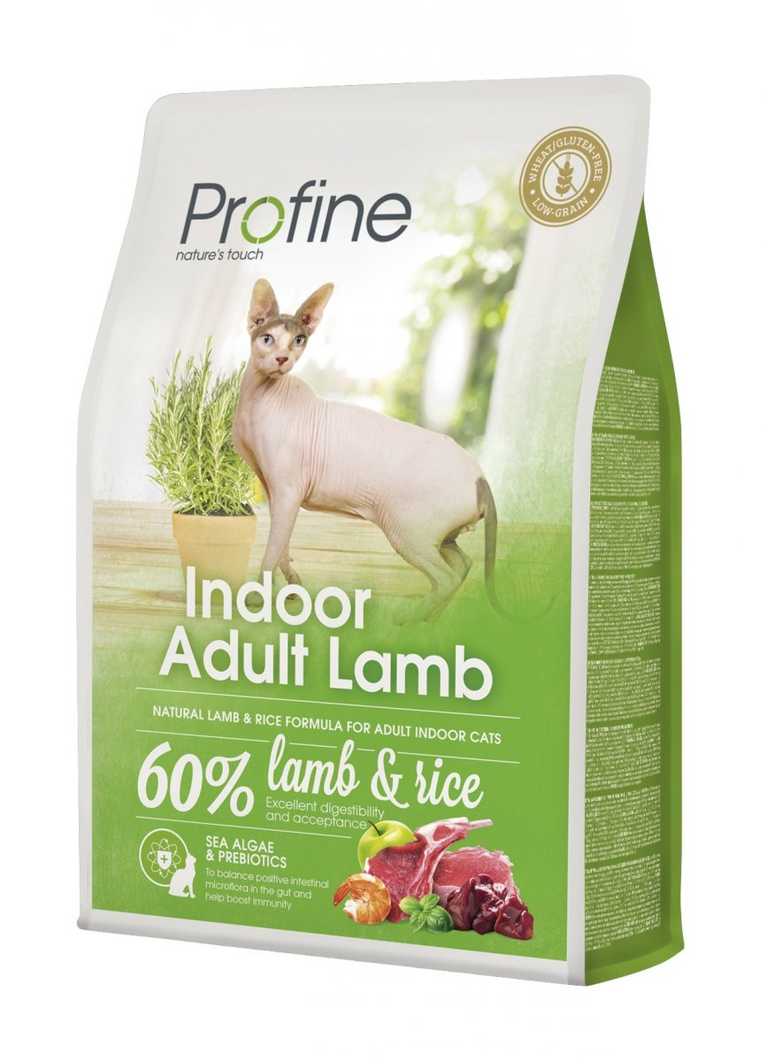 NEW Profine Cat Indoor Adult Lamb 2kg