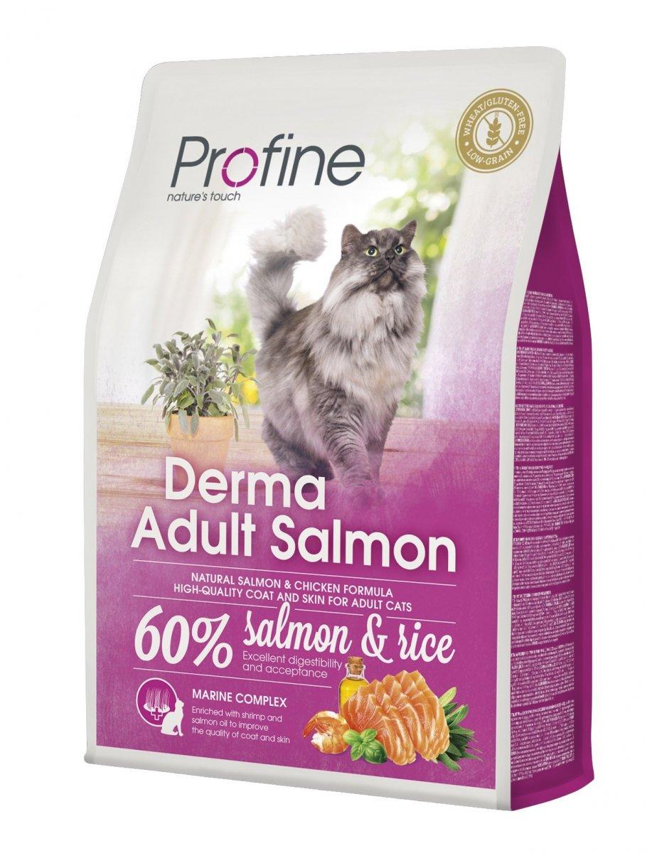 NEW Profine Cat Derma Adult Salmon 2kg