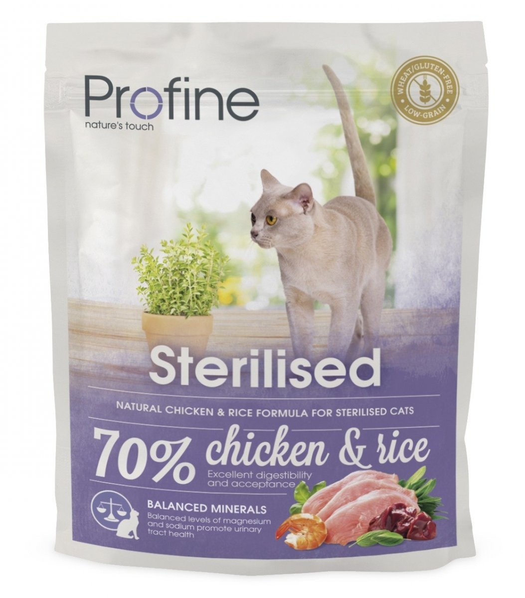 NEW Profine Cat Sterilized 300g