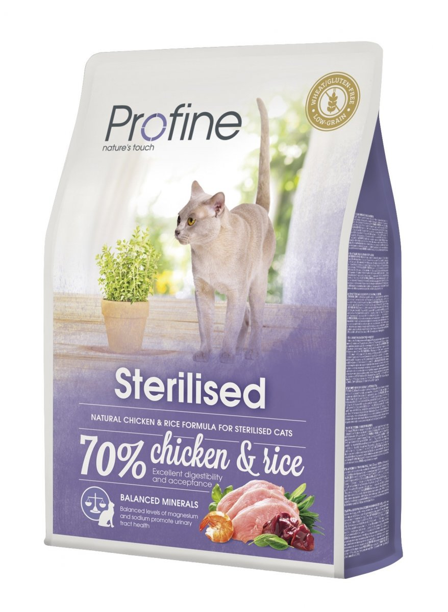 NEW Profine Cat Sterilized 2kg