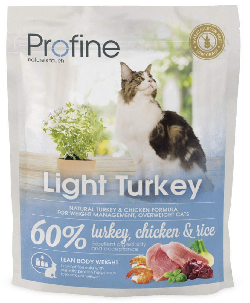 Profine Cat Light Turkey 300g