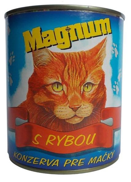 Magnum kočka ryba 855g