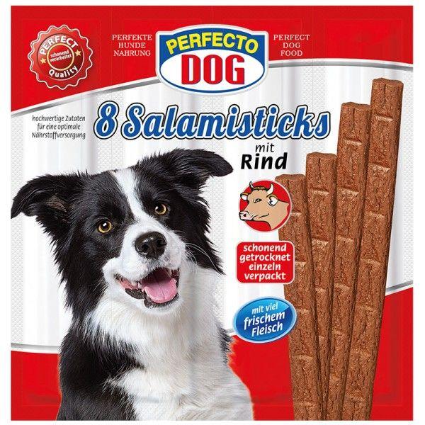 Perfecto Dog masové tyčky hovězí (8ks/88g)