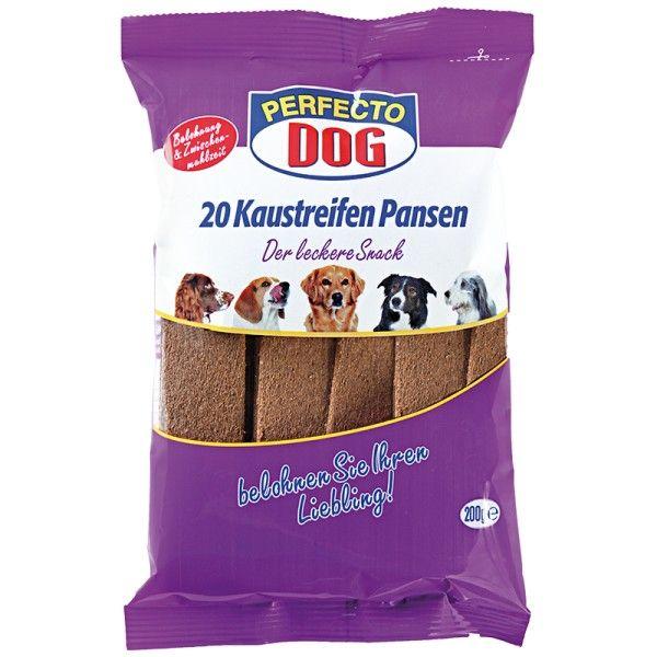 Perfecto Dog Masové plátky s hovězím bachorem (10ks/200g)