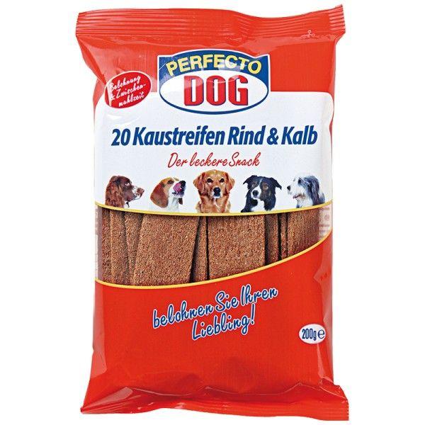 Perfecto Dog Masové plátky hovězí + telecí (10ks/200g)
