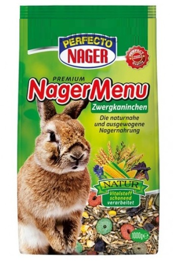 Perfecto Premium krmivo pro zakrslé králíky 1kg PRODEJNA