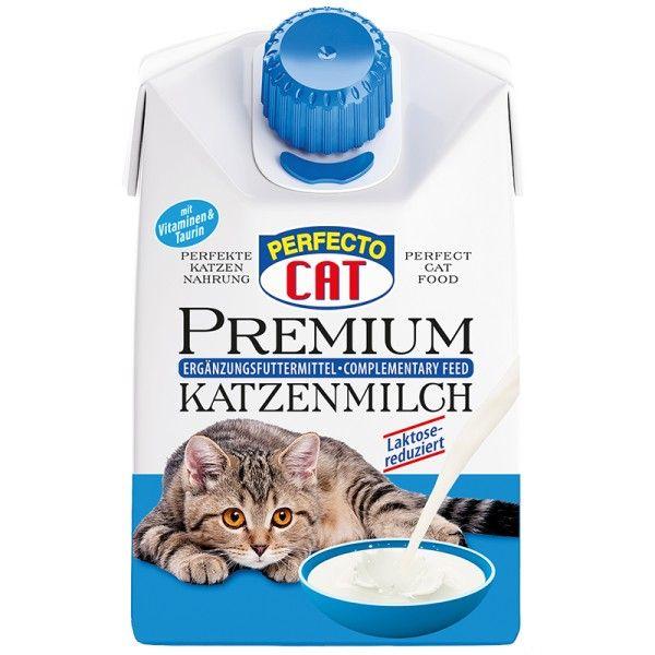 Perfecto Cat prémiové mléko pro kočky 200 ml prodejna