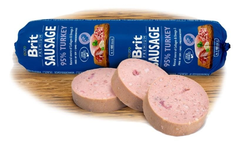 NEW Brit sausage turkey 800g