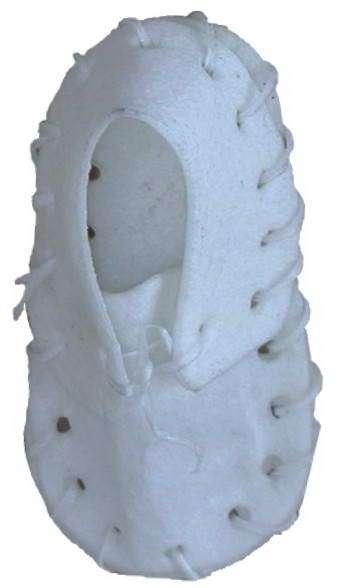 """Bota buvolí bílá kůže 3"""" 7,5cm (25ks)"""