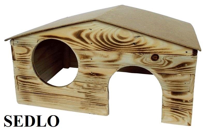 Dřevěná budka Sedlo 3 KRYSA