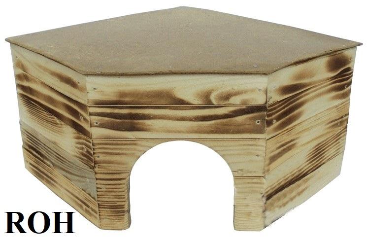 Dřevěná budka Roh 5 KRÁLÍK