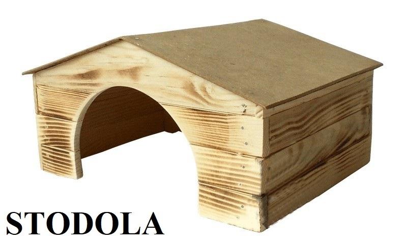Dřevěná budka Stodola 5 KRÁLÍK
