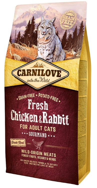 Carnilove Cat Fresh Chicken & Rabbit 6kg