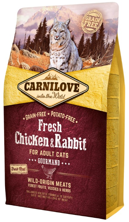 Carnilove Cat Fresh Chicken & Rabbit 2kg