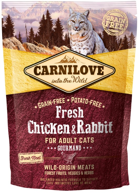 Carnilove Cat Fresh Chicken & Rabbit 0,4kg