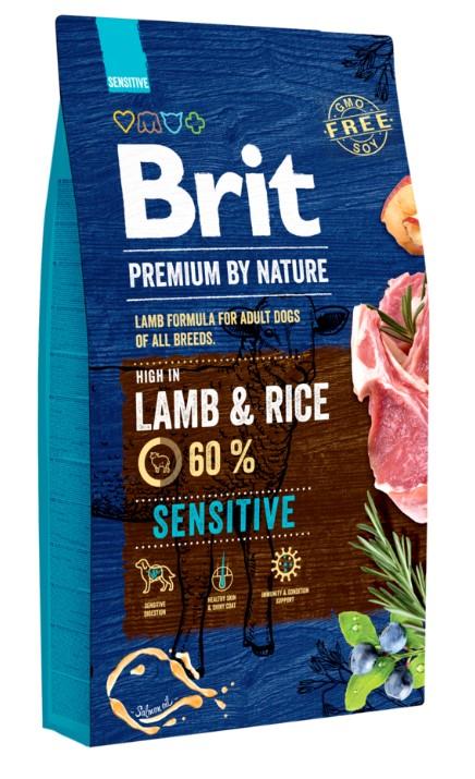 Brit Premium by Nature Sensitive Lamb 8kg