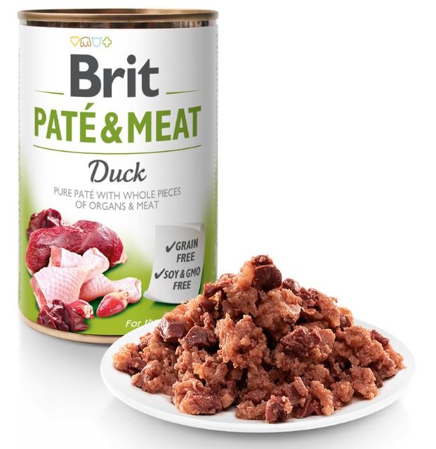 Brit Paté & Meat Duck 400g
