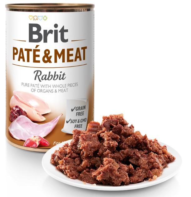 Brit Paté & Meat Rabbit 400g