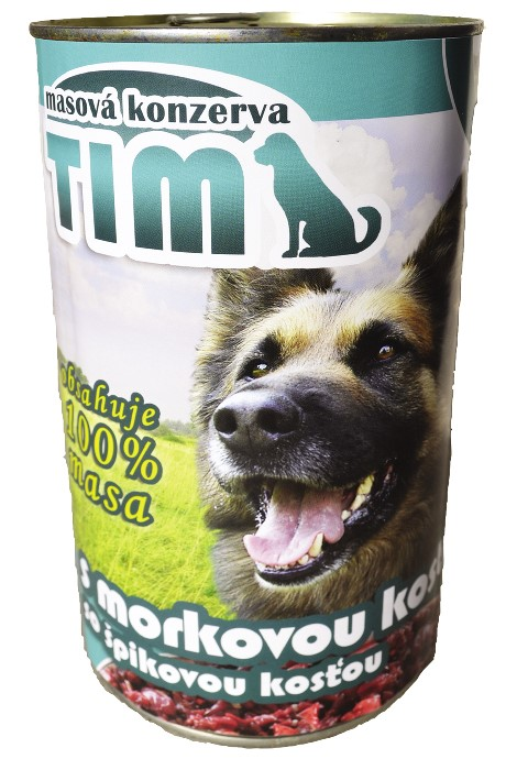 TIM dog s morkovou kostí 1200g