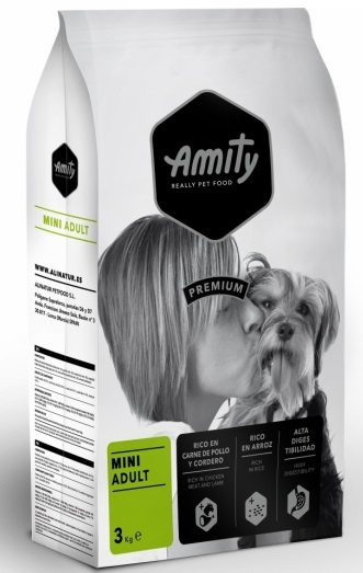 AMITY premium dog ADULT MINI 3kg