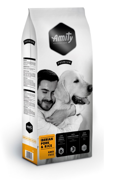 AMITY premium dog IBERIAN Pork & Rice 3kg