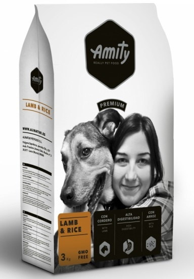 AMITY premium dog Lamb & Rice 3kg