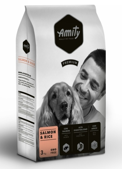AMITY premium dog Salmon & Rice 3kg