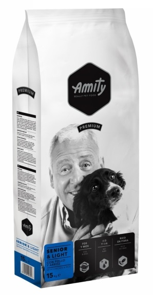 AMITY premium dog SENIOR Light 15kg