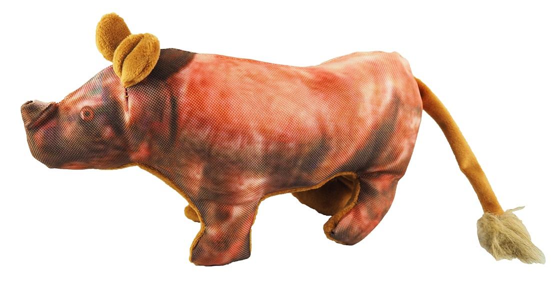 Nosorožec textil pískací 36x16cm